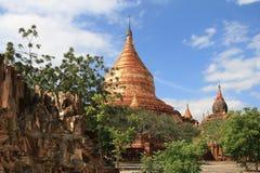 Templos de Bagan, Burma Imagens de Stock