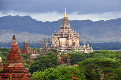 Templos de Bagan Myanmar Imagen de archivo libre de regalías