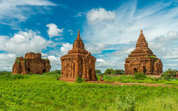Templos de Bagan, Myanmar Imagen de archivo libre de regalías
