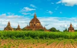 Templos de Bagan, Myanmar Fotos de archivo