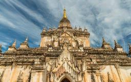 Templos de Bagan, Myanmar Imagenes de archivo
