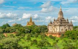 Templos de Bagan, Myanmar Imagen de archivo