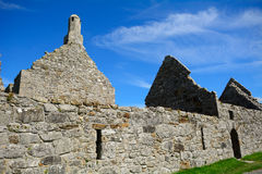 Templos de Dowling y de Hurpan, Clonmacnoise, Irlanda Foto de archivo libre de regalías