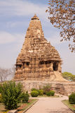Templos de Khajuraho, India fotografia de stock