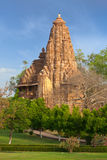 Templos de Lakshmana e de Matangeshwar, Khajuraho Fotos de Stock Royalty Free