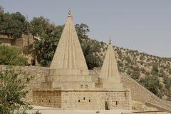 Templos de Lalish, Iraque Imagens de Stock
