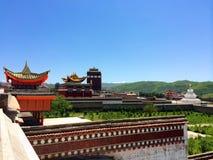 Templos de Milarepa Imagem de Stock Royalty Free