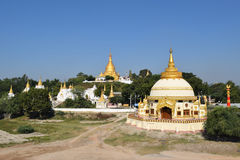 Templos de Rangún en Myanmar Imágenes de archivo libres de regalías