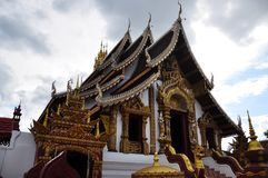 Templos de Tailândia - Chiang Mai Fotos de Stock Royalty Free