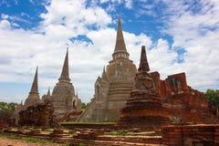 Templos de Tailandia Imágenes de archivo libres de regalías