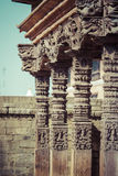 Templos del cuadrado de Durbar en Bhaktapur, Katmandu, Nepal fotografía de archivo libre de regalías