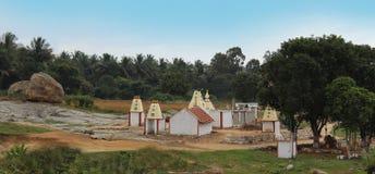 Templos del pueblo Fotos de archivo