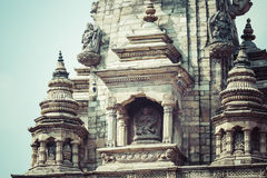 Templos do quadrado de Durbar em Bhaktapur, Kathmandu, Nepal Imagem de Stock
