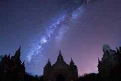 Templos em Bagan Foto de Stock Royalty Free