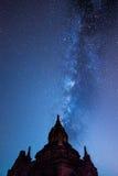 Templos em Bagan Fotos de Stock