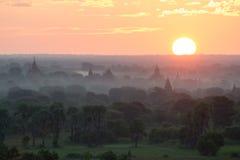 Templos em Bagan Fotografia de Stock Royalty Free