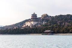 Templos en el palacio de verano fotografía de archivo libre de regalías
