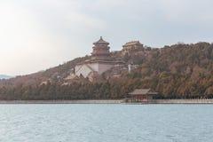 Templos en el palacio de verano fotos de archivo
