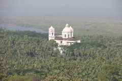 Templos en Goa, la India Fotografía de archivo libre de regalías