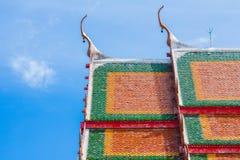 Templos en Tailandia Foto de archivo