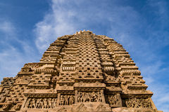Templos Jain antigos cinzelados bonitos construídos no ANÚNCIO do século VI em Osian, Índia Fotos de Stock