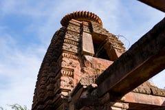 Templos Jain antiguos tallados hermosos construidos en ANUNCIO del siglo VI en Osian, la India imagen de archivo