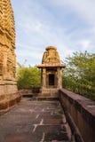 Templos Jain antiguos tallados hermosos construidos en ANUNCIO del siglo VI en Osian, la India Imágenes de archivo libres de regalías