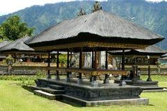 Templos no console de Bali, Indonésia Foto de Stock Royalty Free
