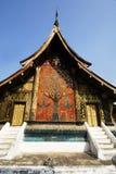 Templos no lao Fotografia de Stock