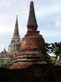 Templos tailandeses antigos Foto de Stock Royalty Free