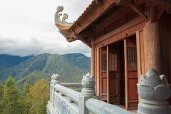 Templos vietnamitas Imágenes de archivo libres de regalías