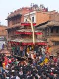 Templos y festivales, Nepal Fotos de archivo