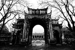 Templos y pagodas de ThaiVi Imágenes de archivo libres de regalías