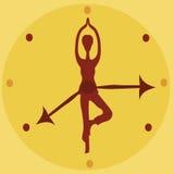 Tempo à saúde Ilustração do Vetor