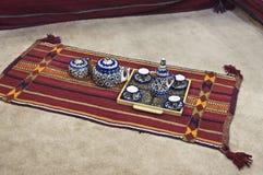 Tempo árabe do chá foto de stock royalty free