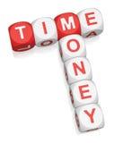 Tempo é dinheiro ilustração royalty free