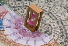 Tempo é dinheiro Fotografia de Stock