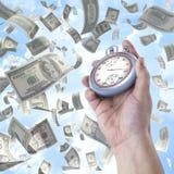 Tempo é dinheiro Imagens de Stock Royalty Free