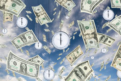 Tempo é dinheiro Imagem de Stock