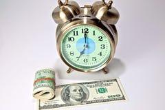 Tempo é dinheiro 4 Foto de Stock Royalty Free