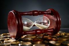 Tempo é dinheiro. Imagens de Stock Royalty Free