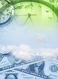 Tempo é dinheiro conceito Imagem de Stock