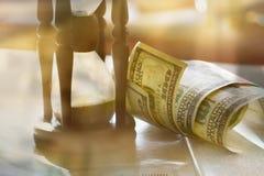Tempo é dinheiro conceito imagens de stock royalty free