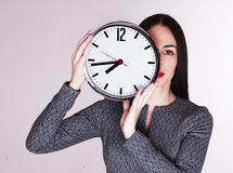 Tempo é dinheiro - imagem conservada em estoque Imagens de Stock Royalty Free