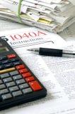 Tempo 2 di imposta Immagine Stock