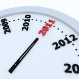 Tempo a 2011 illustrazione di stock