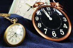Tempo & ancora Fotografie Stock Libere da Diritti