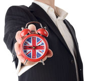 Tempo britânico Fotografia de Stock Royalty Free