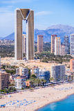 In Tempo building in Benidorm Royalty Free Stock Photos