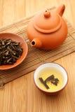 Tempo cinese del tè Fotografia Stock Libera da Diritti